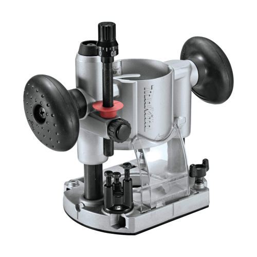 an image showing the Makita 196094-2 compact router plunge base
