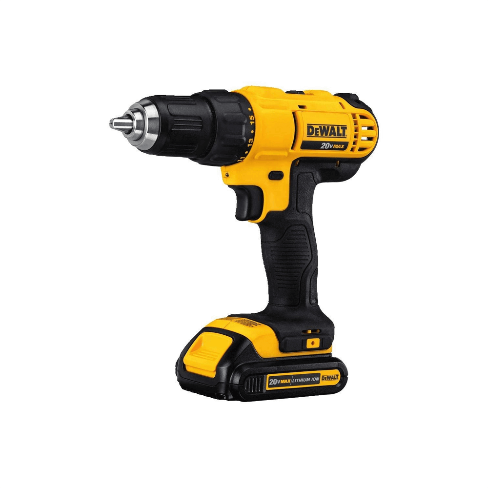 Dewalt dcd777c2 20v max lithium-ion brushless compact drill driver image 1
