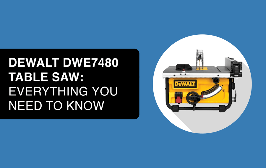 dewalt dwe7480 table saw header image