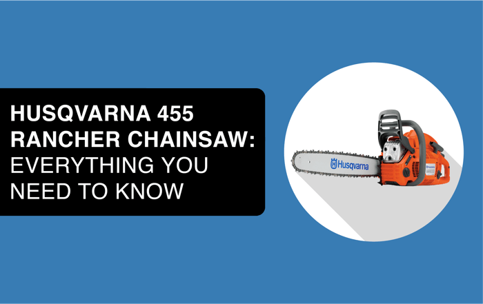 husqvarna 455 rancher chainsaw header image