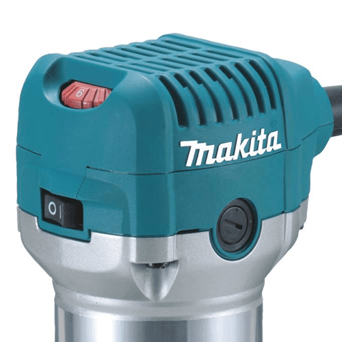 image showing the speed dial of the Makita RT0701C compact router