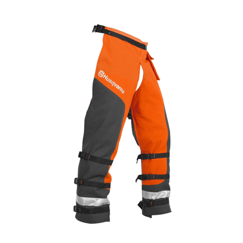 an image showing Husqvarna protective clothing for use with the 455 Rancher chainsaw