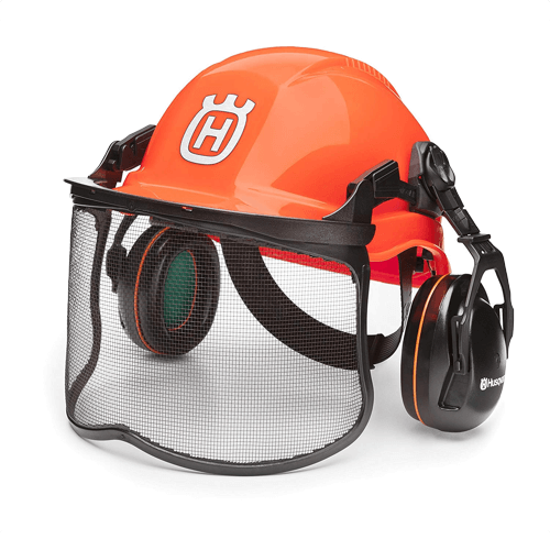 an image showing the Husqvarna 592752601 forest head protection helmet