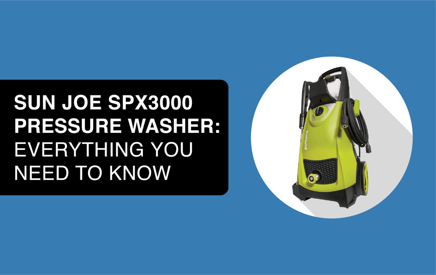 sun joe spx3000 pressure washer header image