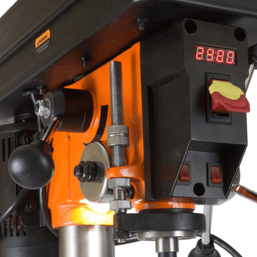 image showing the wen 4214 12 inch variable speed drill press digital speed output