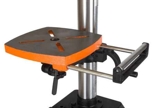 image showing the wen 4214 12 inch variable speed drill press extendable table