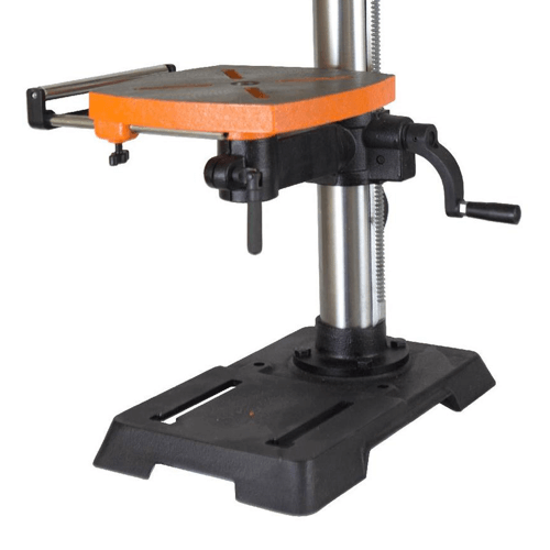 image showing the adjustable base of the wen drill press 4214