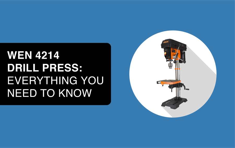 wen 4214 drill press header image