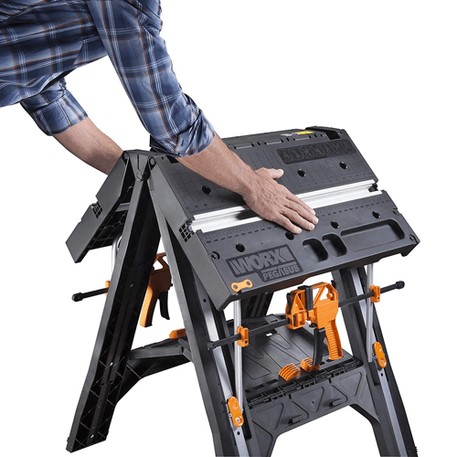 image showing the worx pegasus multi function work table folding