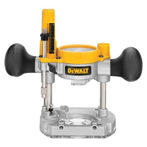 an image showing the DEWALT DNP612 Plunge Base for Compact Router