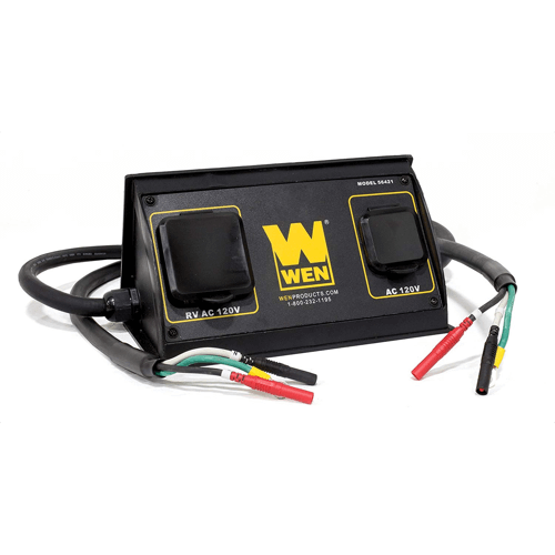 an image showing the WEN 56421 - Parallel Connection Kit for Inverter Generators