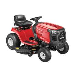 image of the troy bilt bronco riding mower