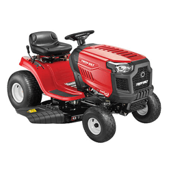 image of the troy bilt pony riding mower