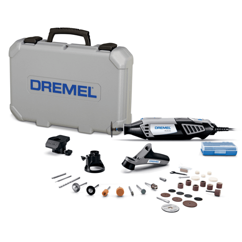 an image showing the Dremel 4000-3-34 Rotary Tool Kit
