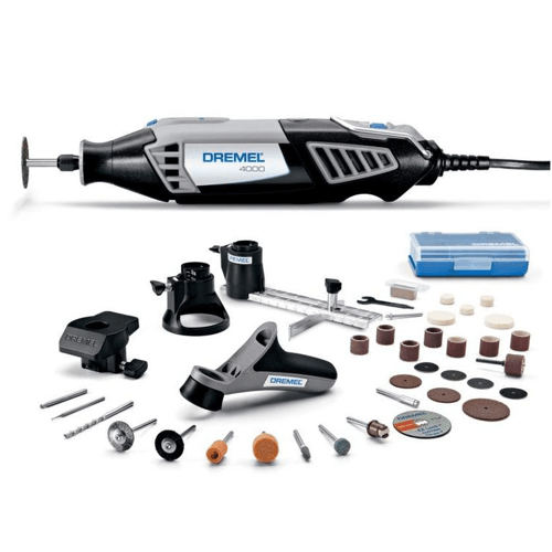 an image showing the Dremel 4000-4-34 Rotary Tool Kit