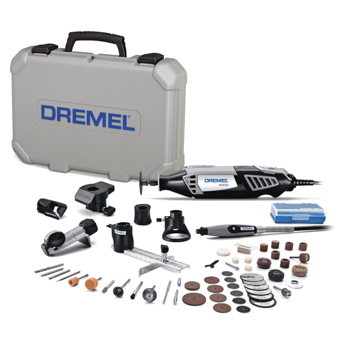 image of the dremel 4000 6-50 rotary tool kit