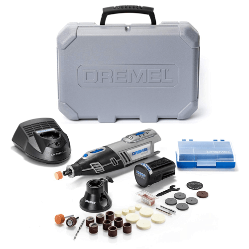 an image showing the Dremel 8220-1-28 Cordless Rotary Tool Kit