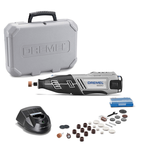 an image showing the Dremel 8220-N-30H Cordless Rotary Tool Kit