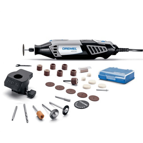 an image showing the Dremel 4000-1-26 Rotary Tool Kit
