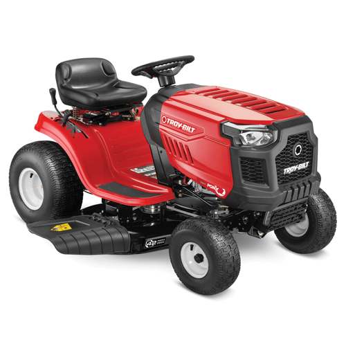 an image of the troy bilt pony riding mower
