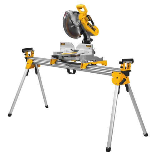 an image showing the DEWALT DWS780 Miter Saw/DWX723 Stand Combo