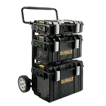 image showing the dewalt toughsystem tool box kit