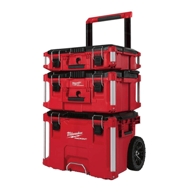 image showing the Milwaukee packout system tool box kit