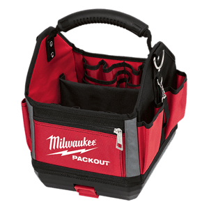 image showing the Milwaukee packout 10 inch tote