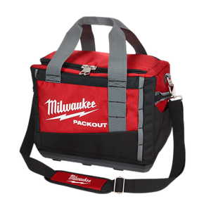 image showing the Milwaukee packout 15 inch tool bag