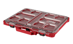 image showing the Milwaukee packout low profile organizer