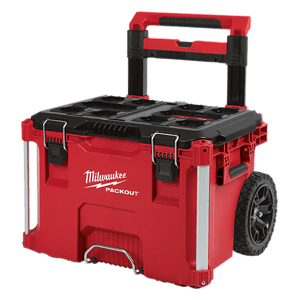 image showing the Milwaukee packout rolling toolbox
