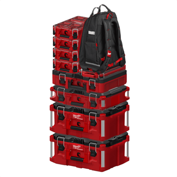 an image showing the Milwaukee PACKOUT Storage System