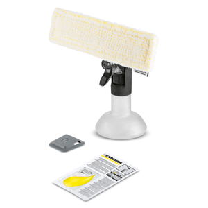 image of the karcher window vac premium spray bottle kit
