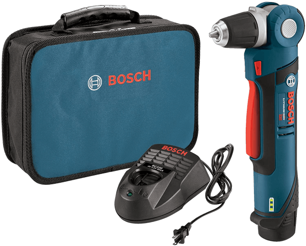 image of the Bosch right-angle drill model reference PS11-102
