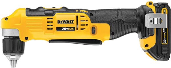 DEWALT DCD740C1 20V MAX Right Angle Cordless Drill Driver Kit toolcrowd image