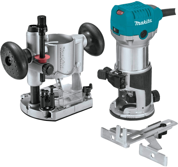 Makita RT0701CX7 1.25-HP Compact Fixed Plunge Router Toolcrowd Image