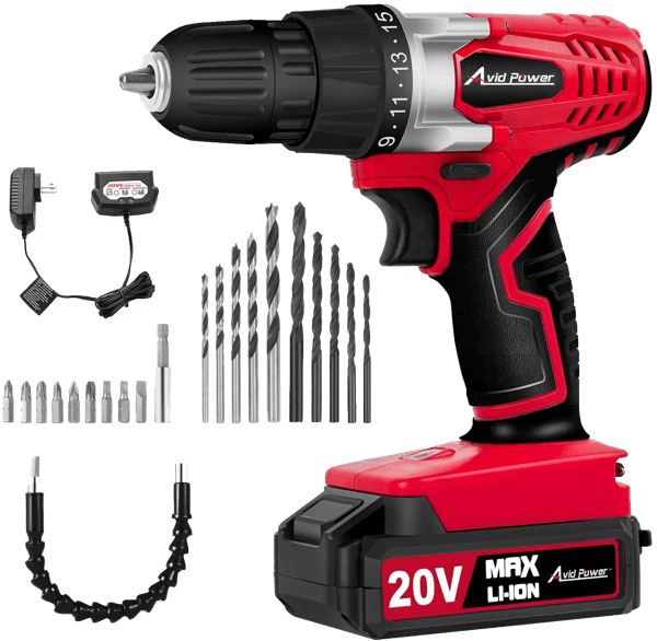 image of the Avid Power MW316, winner of the best cordless drill under $50 in the ToolCrowd Best Value category