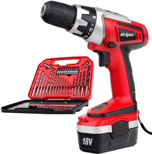 image of the Hi-Spec DT30319, a contender for the best cordless drill under $50
