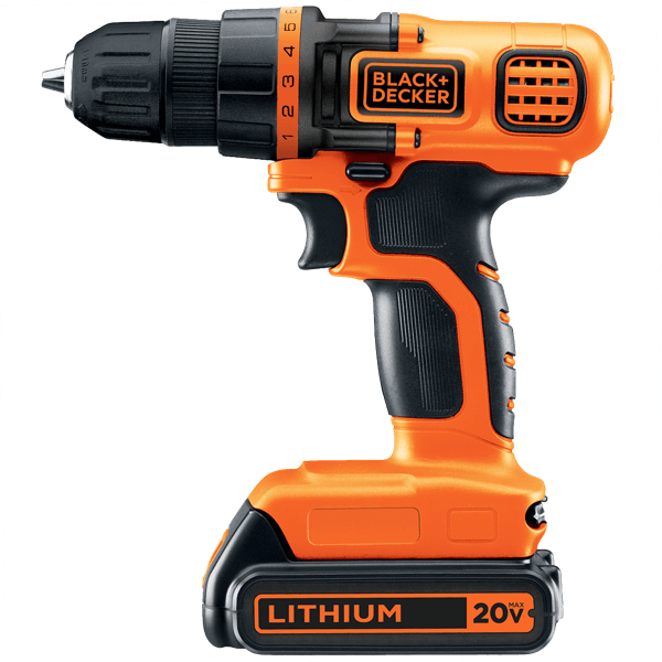 image of the Black and Decker LDX120C, winner of the best cordless drill under $50 in the ToolCrowd Back to Basics category