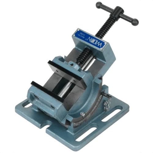 an image of the Wilton 11753 3-inch cradle style angle drill press vise, one of our recommended drill press accessories