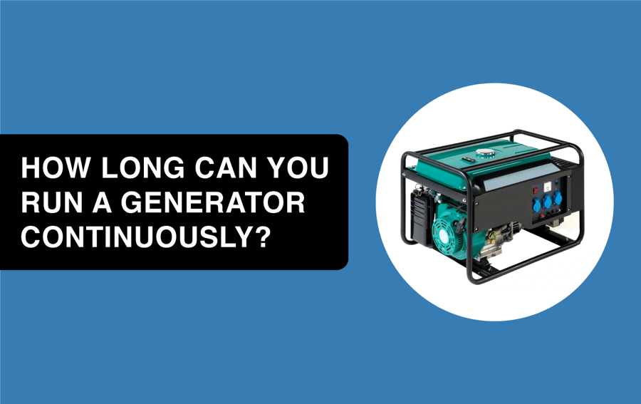 how long can you run a generator continuously article header image