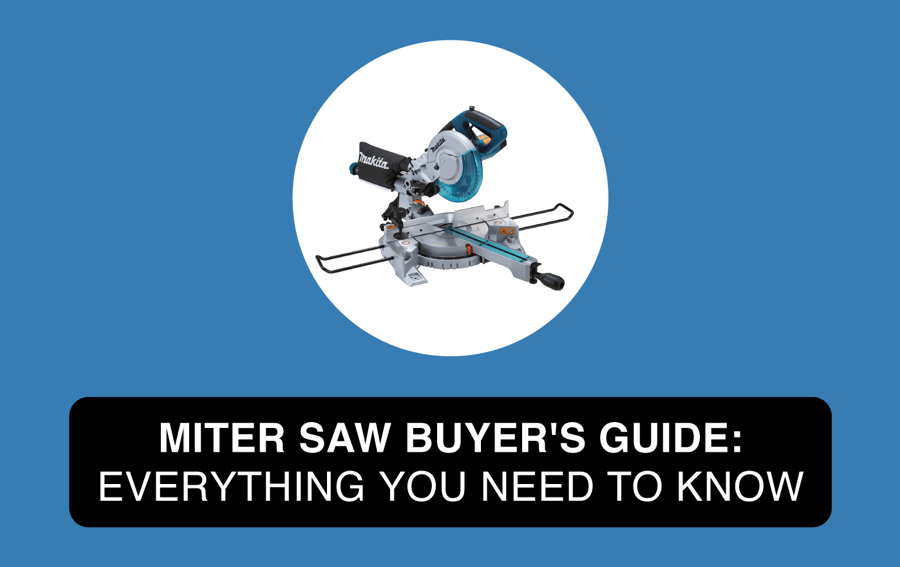 how to choose a miter saw buyers guide article header image