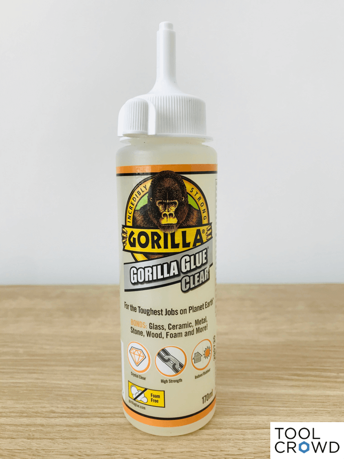 an image showing gorilla glue clear