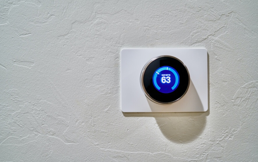 how does a nest thermostat get power header article image