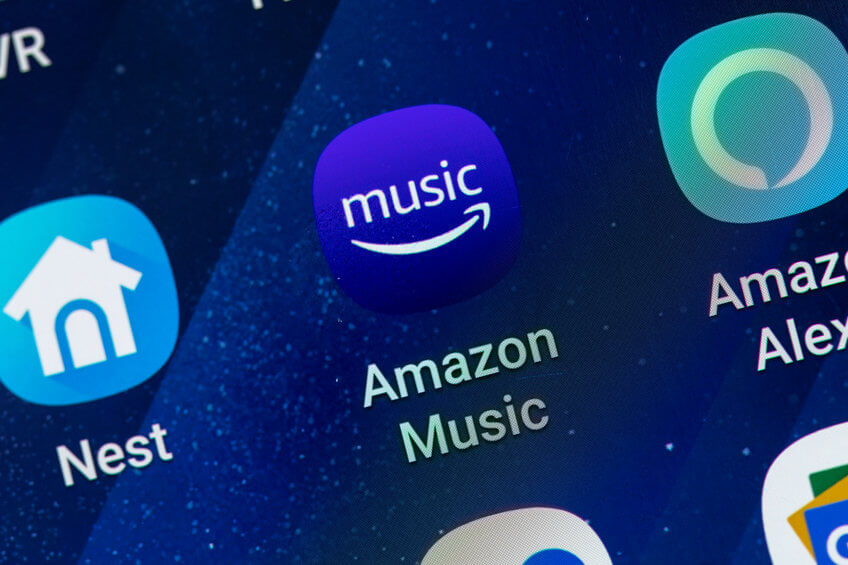 an image showing the amazon music app icon