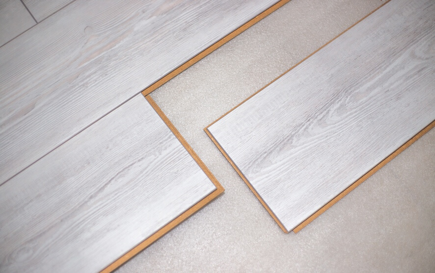 an image showing the joints on laminate flooring boards