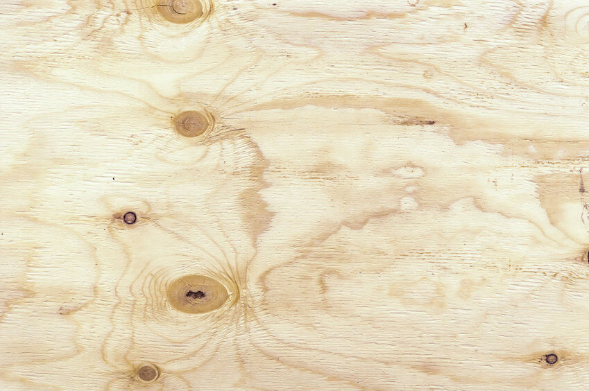 can you use plywood instead of drywall article image - image showing the grain texture of plywood