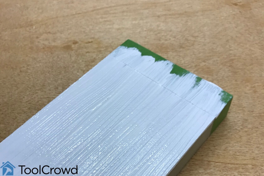 does wood glue work on painted wood - step two image
